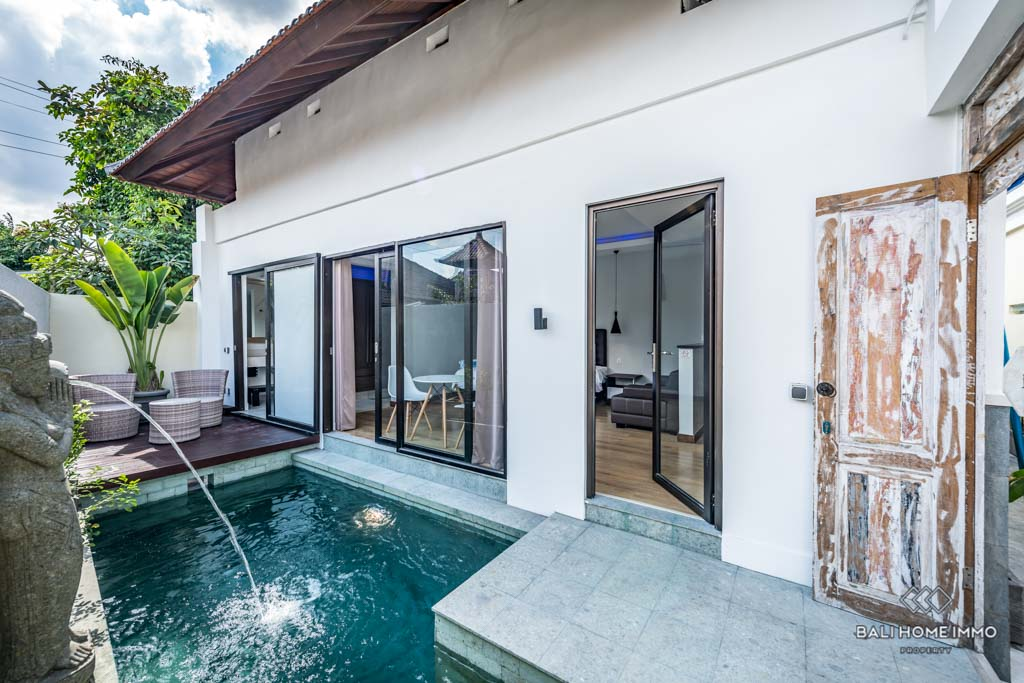 Villa Rent 1 Bedroom Villa For Monthly Yearly Rental In North Canggu Ju068 B Bali Home Immo