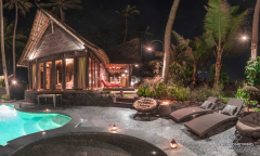 Image 1 from 2 Bedroom Beachfront Villa For Sale Leasehold in Tanah Lot Area