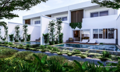 Image 3 from 2 Bedroom Villa With Ricefield View for Sale Leasehold in Canggu