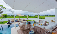 Image 3 from 3 Bedroom Villa with Ricefield View For Sale Leasehold in North Pererenan