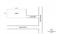 Image 2 from Terrain avec vue sur Ricefield à vendre Propriété à bail à Berawa