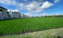 Image 2 from Terrain avec vue sur Ricefield à vendre en location près de la plage de cemagi