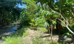 Image 1 from Tanah dengan Pemandangan Sungai dijual di Umalas