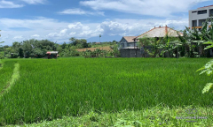Image 1 from Ricefield View Land For Sale Leasehold in Berawa