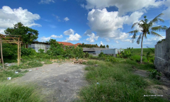 Image 1 from Ricefield View Land For Sale Leasehold in Canggu - Residential Side